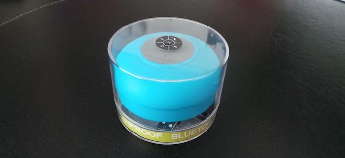 Test enceinte bluetooth pour la douche by aquafonik - Enceinte bluetooth douche ...