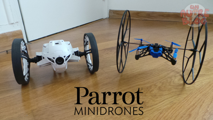 [TEST] Minidrones Parrot Jumping Sumo & Rolling Spider