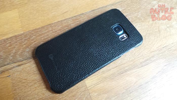 housse Samsung Galaxy S6 Edge de StilGut modèle Book Type en noir