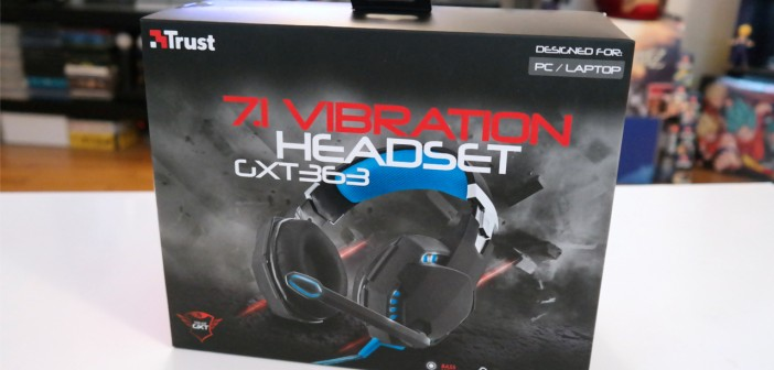 [TEST] Casque gaming Trust GXT 363 7.1 Bass Vibration