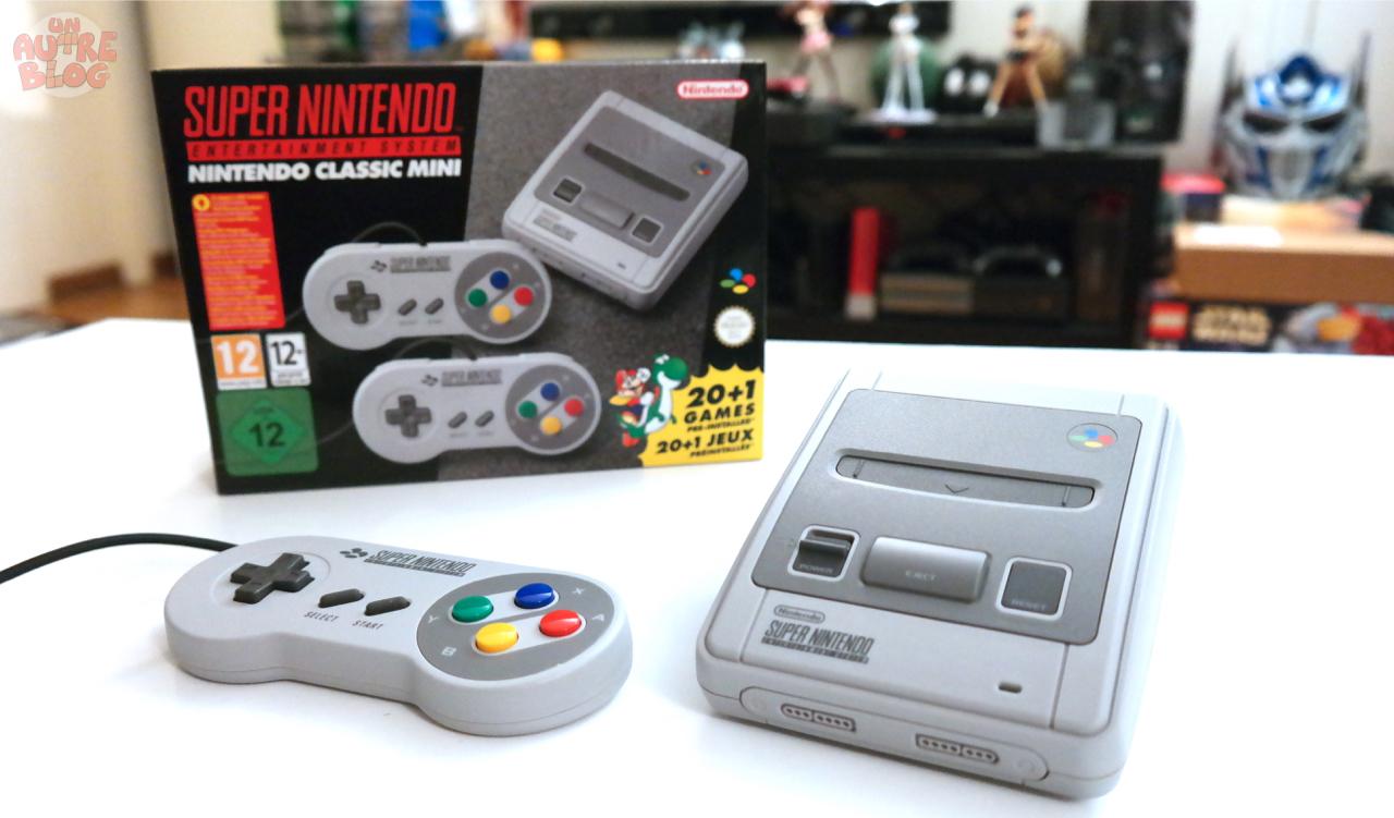 Unboxing super nintendo classic mini - Derniere console nintendo ...