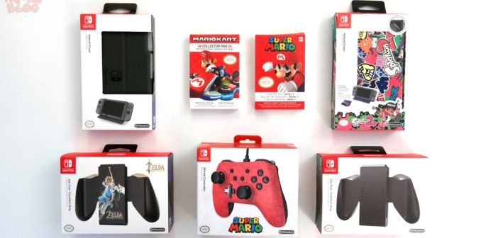 [Nintendo] Le plein d'accessoires Switch by PowerA