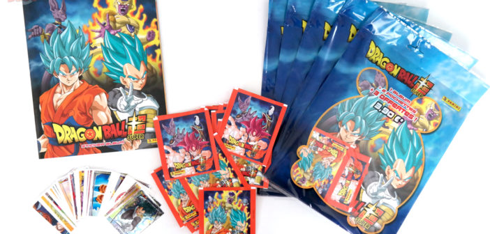 [Collection + Concours] Album et Stickers Panini Dragon Ball Super