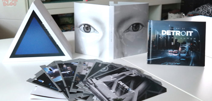 [UNBOXING] Press Kit Detroit: Become Human