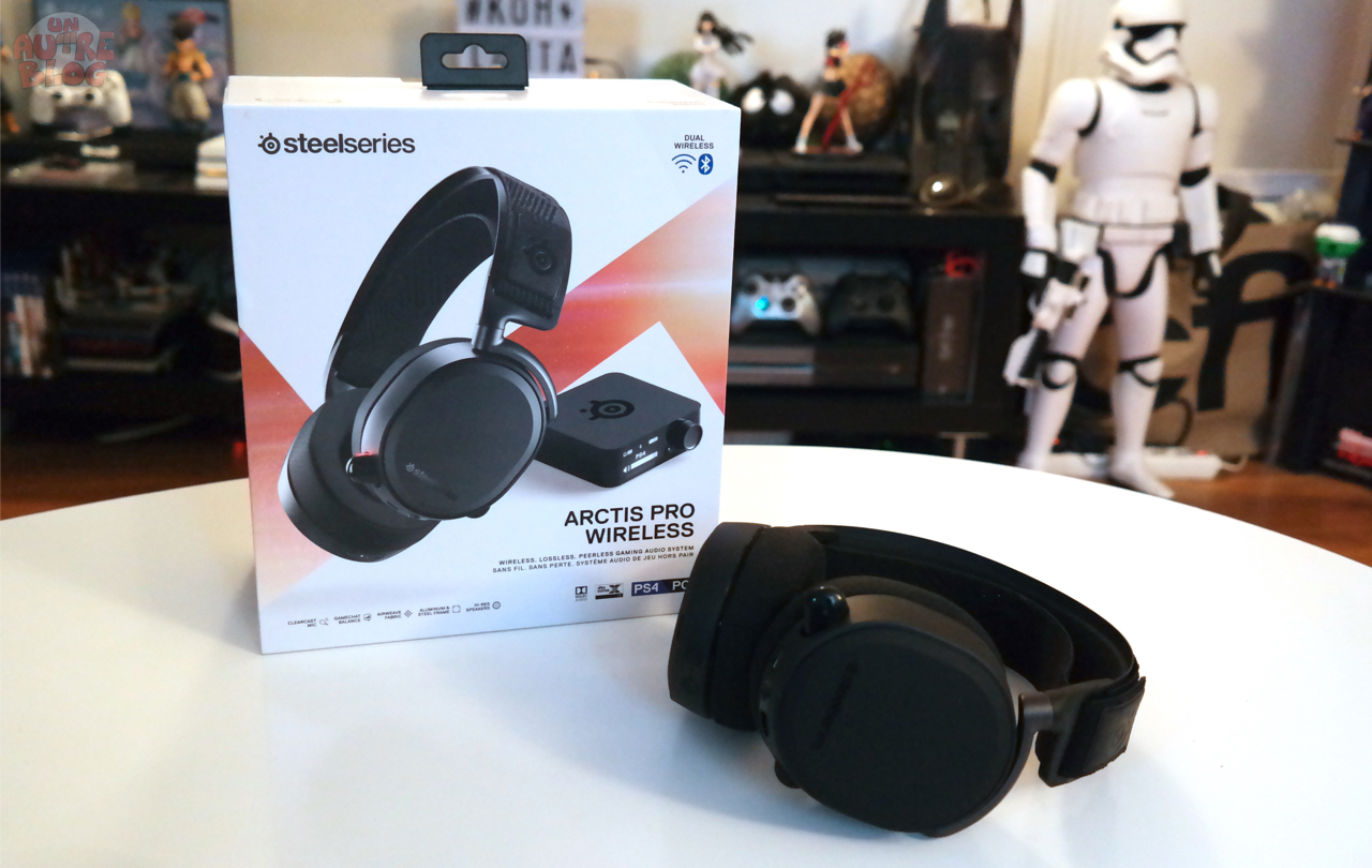 Test Casque Gaming Steelseries Arctis Pro Wireless