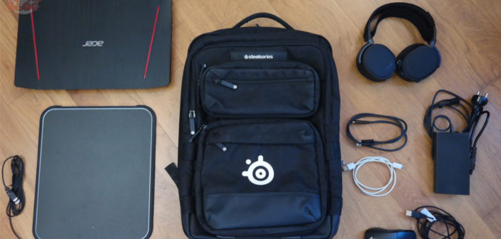 [TEST] Sac à dos gaming Sniper Targus SteelSeries
