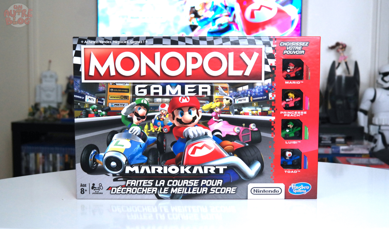 jeux monopoly gamer mario kart. Black Bedroom Furniture Sets. Home Design Ideas