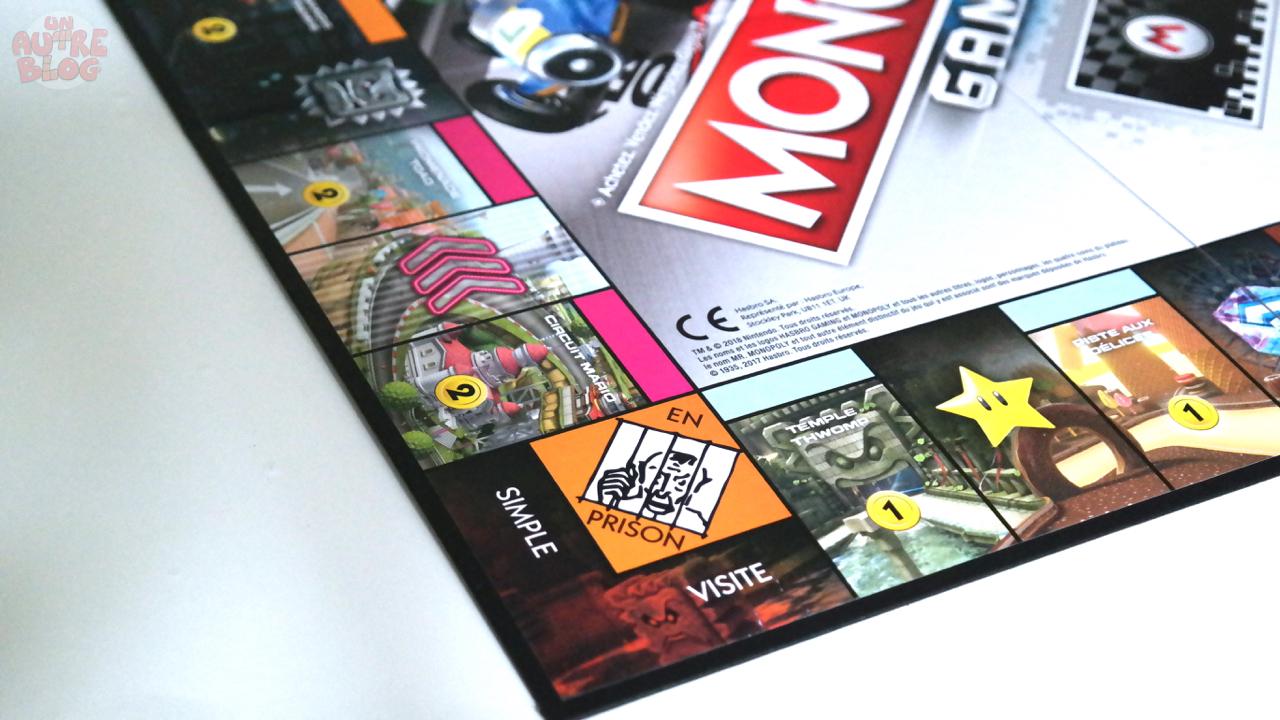 jeux monopoly gamer mario kart. Black Bedroom Furniture Sets. Home Design Ideas