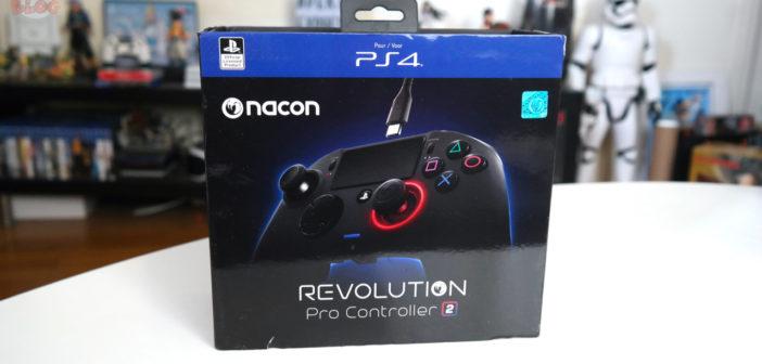[TEST] Manette Nacon Revolution Pro Controller 2 pour PS4
