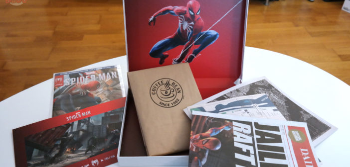 [UNBOXING] Press Kit Marvel's Spider-Man