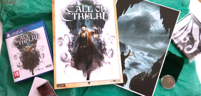 [UNBOXING] Press Kit Call Of Cthulhu