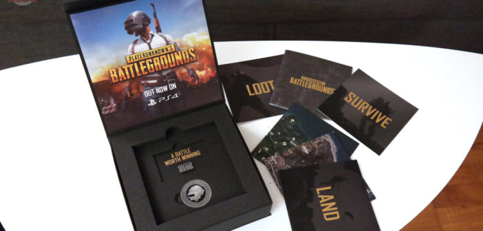 [UNBOXING] Press Kit PlayerUnknown's Battlegrounds