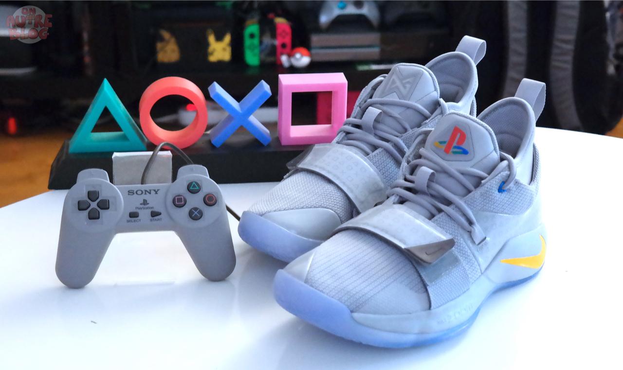chaussures de sport ad976 513ee COLLECTOR] Nike Paul George 2.5 PlayStation Grey | Un Autre Blog