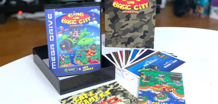 [COLLECTOR] Bomb On Basic City Special Edition sur Megadrive