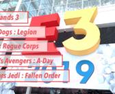 [E3 2019] Retour sur les jeux du salon – Part 1