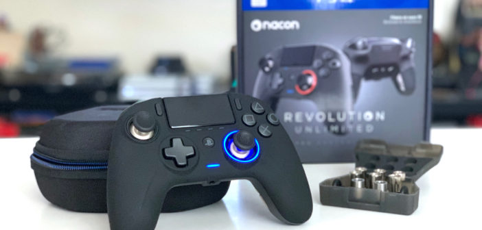 [TEST] Manette Nacon Revolution Unlimited pour PS4
